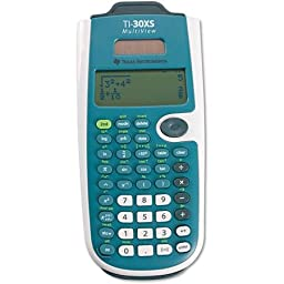 Texas Instruments Multiview Calculator, 4-line, 16 Character LCD Display Office Calculator
