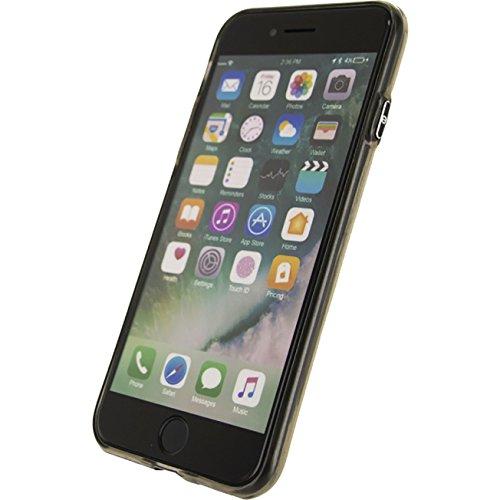 Mobilize Telefon Deluxe Gelly Case Apple iPhone 7 Schwa