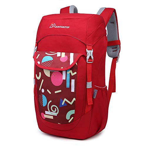 Mountaintop Kids Backpack Toddler Backpack for School Small Hiking Backpack for Boys and Girls