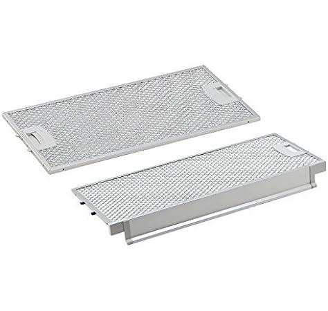Adecuado para filtros de grasa metálicos Siemens/Bosch de AllSpares 434105/00434105/434107/00434107/LI46630.: Amazon.es: Grandes electrodomésticos