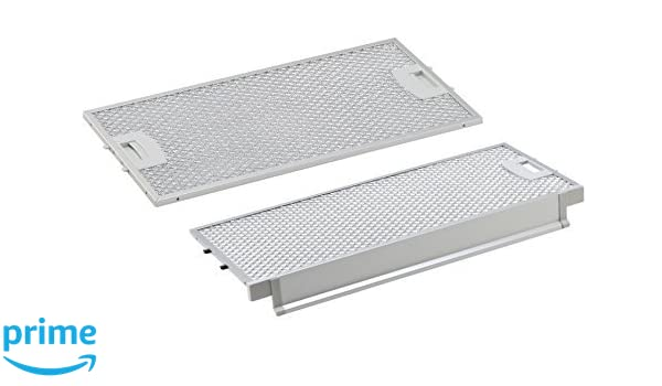 Pack combinado para Bosch/Siemens/Neff/Balay filtro de grasa/metal ...
