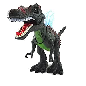 Dinosaur Toy Walking Spinosaurus With Lights And Realistic Dinosaur Sounds by Env Toys