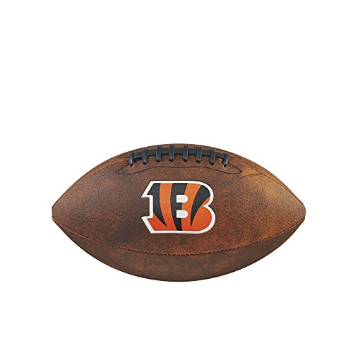 NFL Junior Throwback Team Logo Football - Cincinnati Bengals