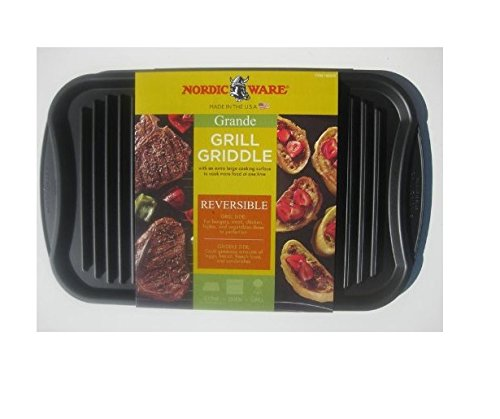 Nordicware Grand Size Double Burner Reversible Grill / Griddle