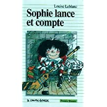 Sophie lance et compte
