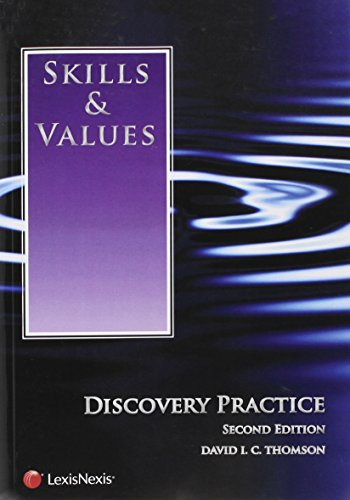 Skills & Values: Discovery Practice (2014)