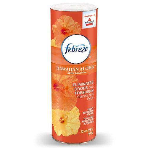 Febreze Hawaiian Aloha Room & Carpet Deodorizing Powder Endorsed by BISSELL, 32 (Carpet Deodorizing Powder)