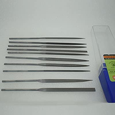 10Pcs 140mm Needle Files for Jeweler Diamond Carving Craft Tool Metal Glass Stone Setting GH666D
