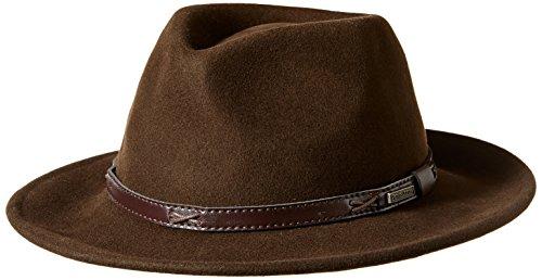 Pendleton Men's Indiana Hat, Beaver Brown, LG - Mens Brown Beaver