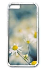 Chamomile flowers Custom iphone 6 plus Case Cover Polycarbonate Transparent wangjiang maoyi by lolosakes