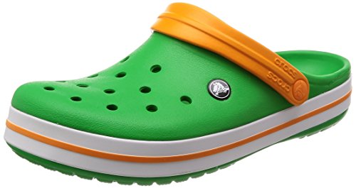 Men's Crocband amp; Grass Blz Crocs Orange Women's Clog White Green qdHtO46vxw