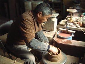 豪華酒器セット 陶芸作家 安藤嘉規作(麦焼酎 夢のひととき 720ml)