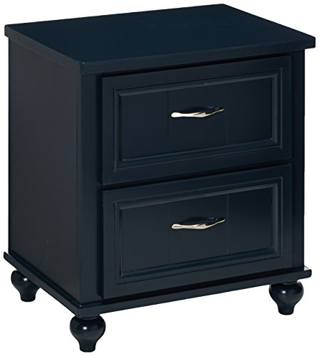 247SHOPATHOME IDF-7322BL-N Childrens, nightstand, (2 Drawer Youth Nightstand)