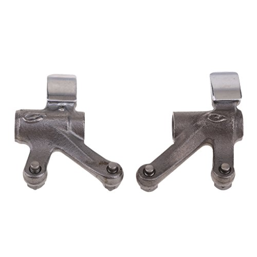 IPOTCH Pack of Complete Intake/Exhaust Rocker Arm Assembly for Scooters ATV Go-Karts:
