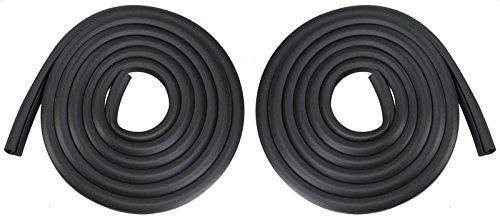 Door Seals Rubber Weatherstrip Pair Set for Ford Bronco F100 F150 F250 F350