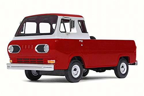 First Gear Ford Econoline Pick-Up, Rangoon Red 49-0400 - 1/25 Scale Diecast Model Toy (Ford Econoline Pickup)