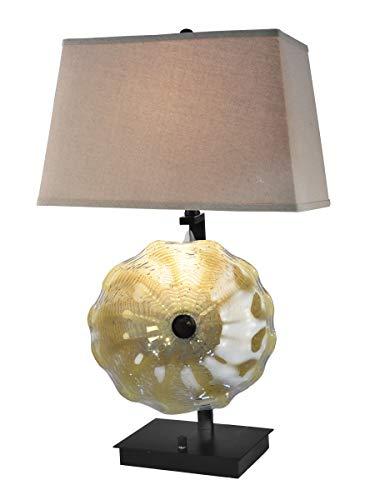 Dale Tiffany AT18006 Impasto Table Lamp, 28.5