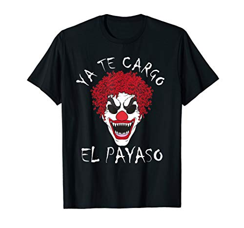 Horror Clown T-Shirt Halloween Tee -