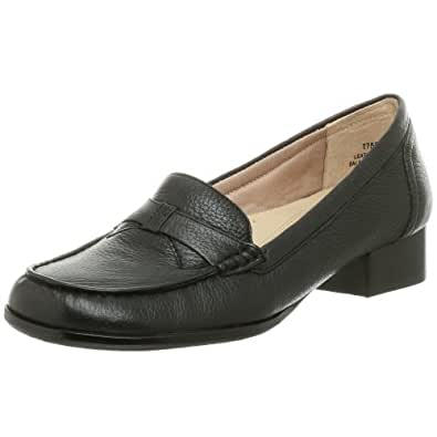 Trotters Women's Lindy Penny Loafer,Black,10 N