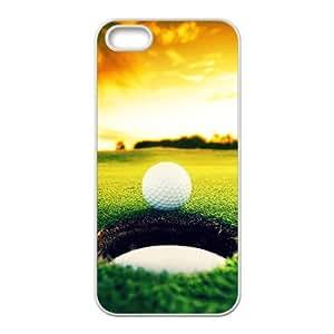 Sunshine Golfball Custom Protective Hard Phone Cae For Iphone 5s