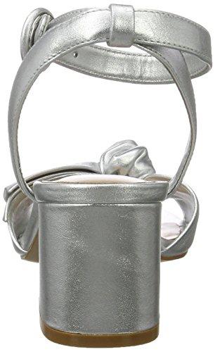 ALDO Beautie Bout Sandales Femme Ouvert Argent 81 Silver r6qrEw