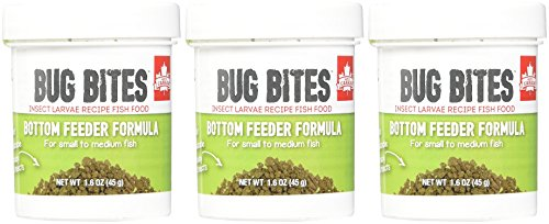 (3 Pack) Fluval Bug Bites Bottom Feeder Formula for Small to Medium Fish