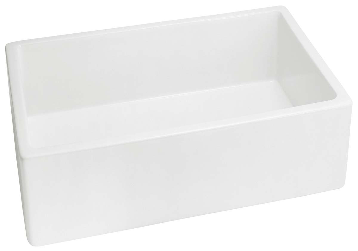 Belle Foret BFF4KITWH Apron Front Kitchen Sink, Fireclay   Single Bowl Sinks    Amazon.com
