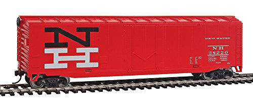 Freight Boxcar - WalthersTrainline Ready to Run New Haven Boxcar, Orange/Black/White