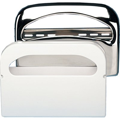 Sweet KD200 16'' Width x 11-1/2'' Height x 3-1/4'' Depth, Toilet Seat Cover Dispenser with Chrome Finish