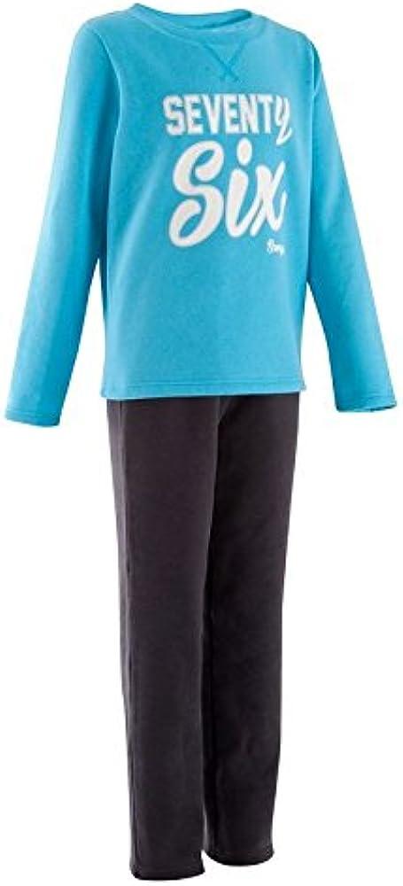 Domyos - Chándal - para niña Rosa-Gris: Amazon.es: Ropa y accesorios