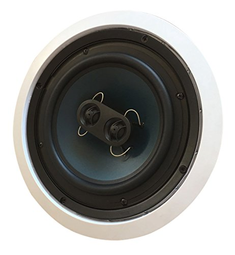 82S2C Silver Ticket In-Wall In-Ceiling Speaker with Pivoting Tweeter (2 Channel Stereo 8 Inch in-ceiling)