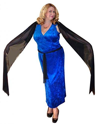Sanctuarie Designs Women's Medusa Plus Size Supersize Halloween Costume Dress/4xT/Blue/ ()