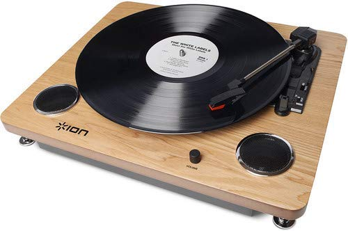 ION Audio Archive LP | Digital Conversion Turntable with Built-In Stereo Speakers and Diamond-Tipped Stylus (Renewed)