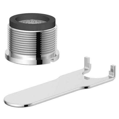 Danze DA613079NBR Tom Thumb Male Faucet Aerator Kit with Laminar Flow Pattern, 1.5 GPM, Tumbled Bronze