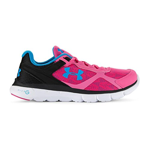 Under Armour womenï & # x178; s UA Micro G Velocity Running Shoes black (001), (rebel pink (652)), US 5 rebel pink (652)