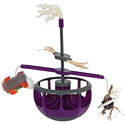 Petmate Jackson Galaxy Gravity Tower Cat Toy