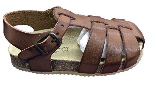 Piel Vestir Camel 1290 Aladino Mod 100 Sandalias De FHAnxn