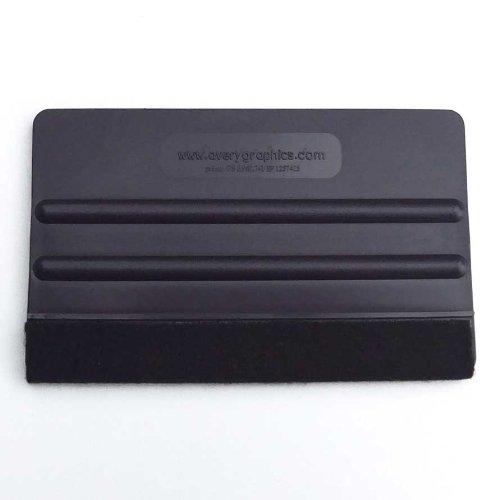 ラッピングフィルム用 AVERY Tool スキージー プロXL 紺色(硬めハードタイプ・ウールフェルト付き)