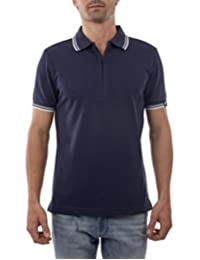Playera Polo Manga Corta Slim Fit Marino