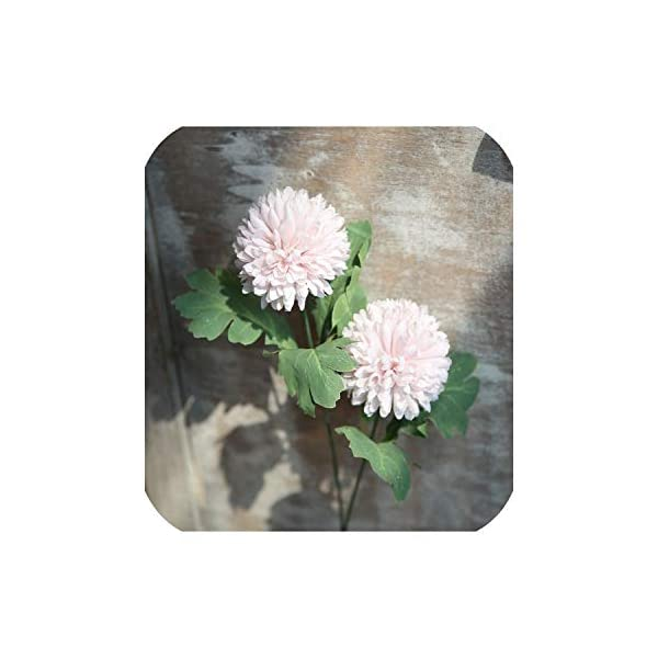 Simulation Flower Single Silk Dandelion Hyacinth for Wedding Home Decoration Background Fake Flower Wall Rose Photography Set,3,30Pcs