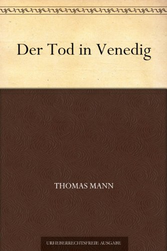 der-tod-in-venedig-german-edition