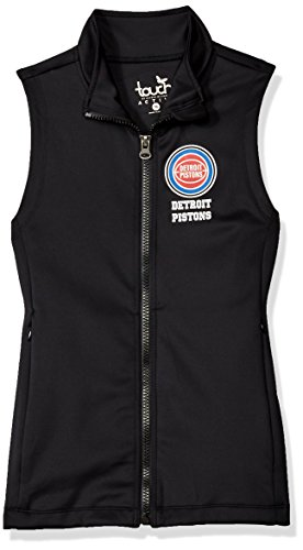 Touch by Alyssa Milano NBA Detroit Pistons Victory Vest, Small, Black