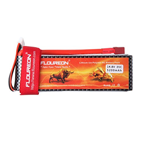 Floureon Floureon 4s 14 8v 35c 5200mah Lipo Rc Battery