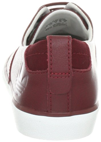 adidas Originals AZURINE LOW W - Zapatillas deportivas de cuero mujer rojo - Rot (MARS RED F05 / MARS RED F05 / WHITE VAPOUR S11)