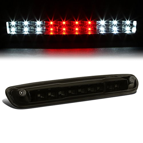 Chevy Silverado / GMC Sierra GMT900 High Mount Dual Row LED 3rd Brake / Cargo Light (Black Housing Smoke (Sierra Smoke Led)