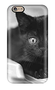 WOoGfbd5604IHWyz The Black Kitty Fashion Tpu 6 Case Cover For Iphone