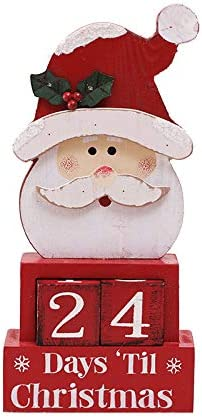 [해외]CHIBEI Christmas Calendar Ornaments Personalized Desktop Decorations furnishings Props Small Gift Boxes Christmas Countdown (red) / CHIBEI Christmas Calendar Ornaments Personalized Desktop Decorations furnishings Props Small Gift B...