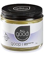 All Good Goop - Organic Skin Relief Balm & Ointment w/Calendula for Dry Skin, Scars, Eczema, Diaper Rash, Bug Bites, Burns, Chapped Lips - Safe for Baby & Sensitive Skin (2 oz)