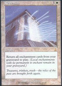 Magic: the Gathering - Replenish - Urza's Destiny