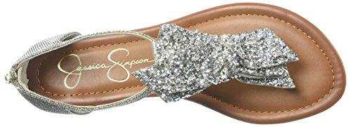 Jessica Simpson Kvinders Kellise Flad Sandal Guld K2nZB